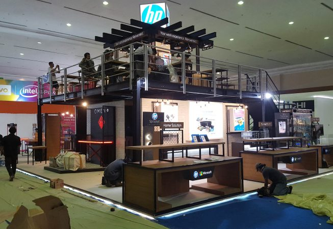 HP @ Indocomtech 2017